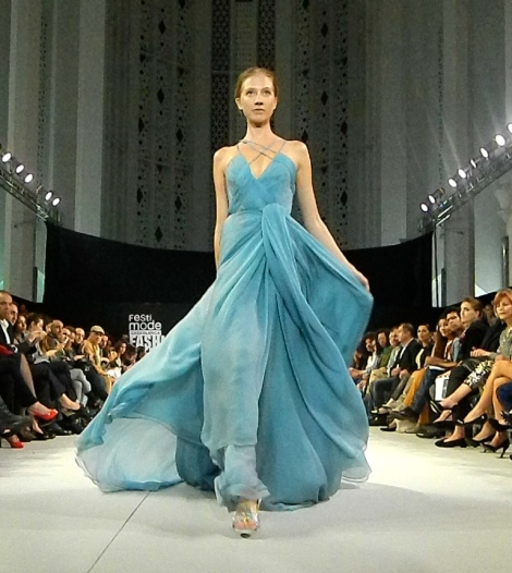 Said Mahrouf's Couture Gown at FCFW